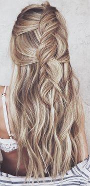 ideas long hair colors