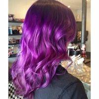 Smoky Purple using Pravana - Hair Color | Hair Luv ...