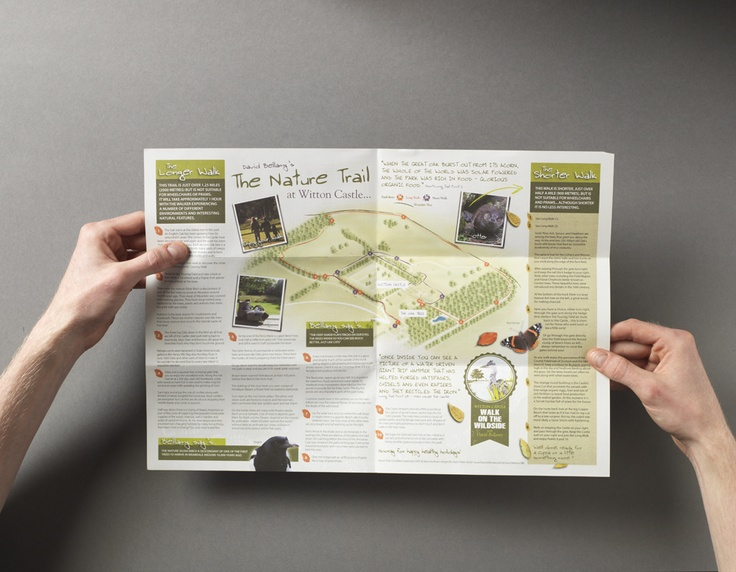Witton Castle Country Park Nature Trail Tri Fold Leaflet