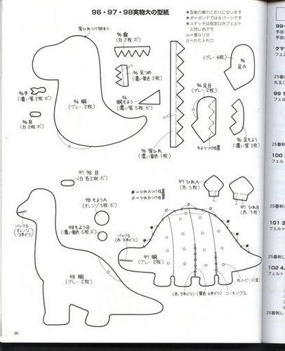 25+ best ideas about Dinosaur pattern on Pinterest