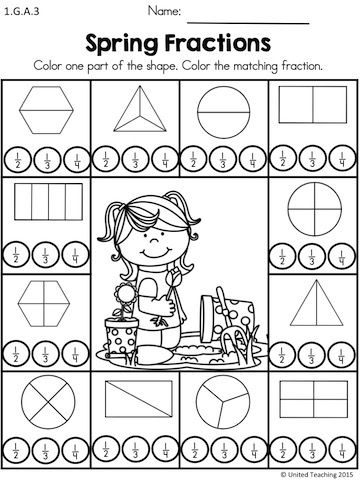 25+ Best Ideas about Fractions Of Shapes on Pinterest