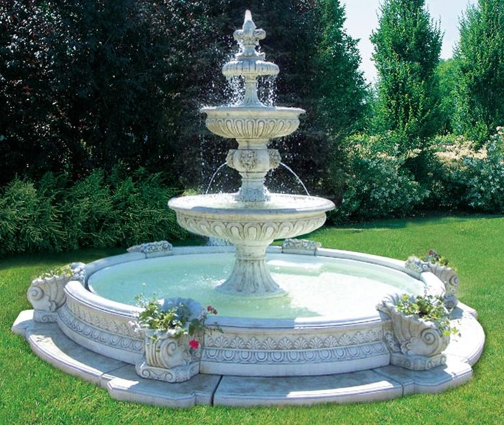25 Best Ideas About Outdoor Water Fountains On Pinterest