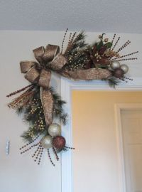 17 Best ideas about Christmas Swags on Pinterest