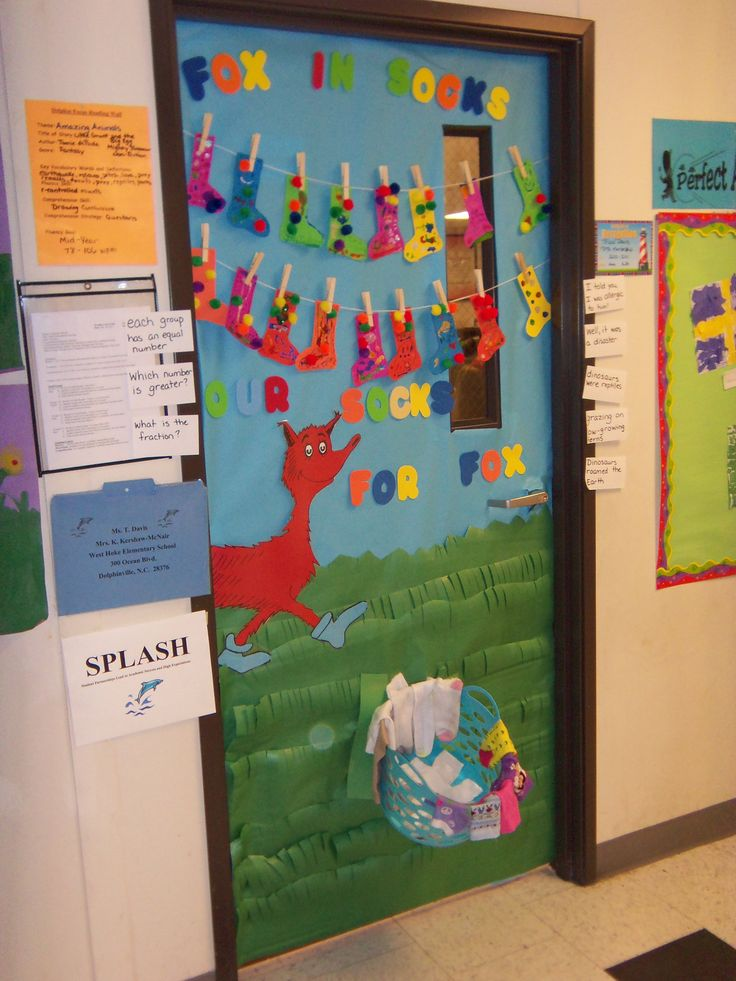 Dr. Seuss Read Across America Door Decorating Contest