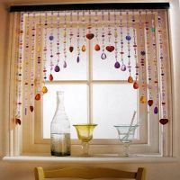 Also in window over bathroom mirror! Kitchen-curtain-ideas ...