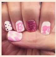 barbie nails pretty arial