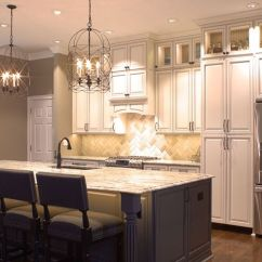 Kitchen Cabinet Hardware Ideas Outdoor Flat Top Grill Platinum Kitchens: Double Stacked Upper Cabinets Love ...