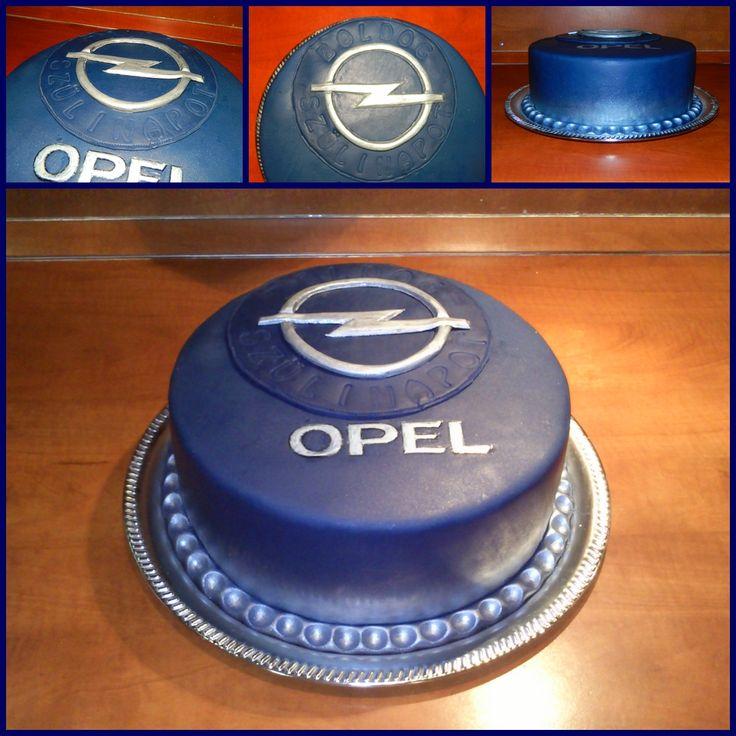 Opel Signap Cake Opel Jel Torta My Cakes Tort 225 Im