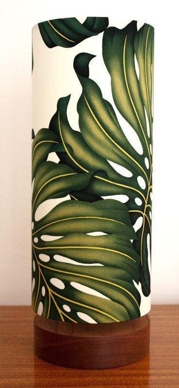 hawaiian tropical side lamp via Etsy, LOVE these, we need