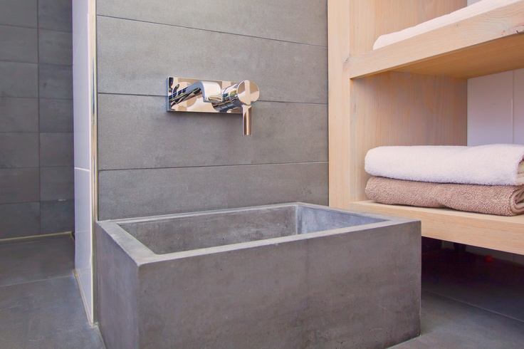concrete feet wash basin  8R made Concrete sinks 8R