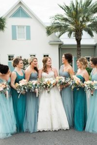 25+ best ideas about Teal Wedding Dresses on Pinterest ...