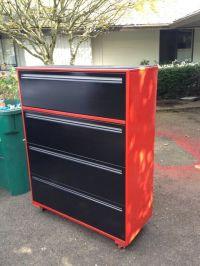 File Cabinet Garage Storage-great idea paint it beach ...