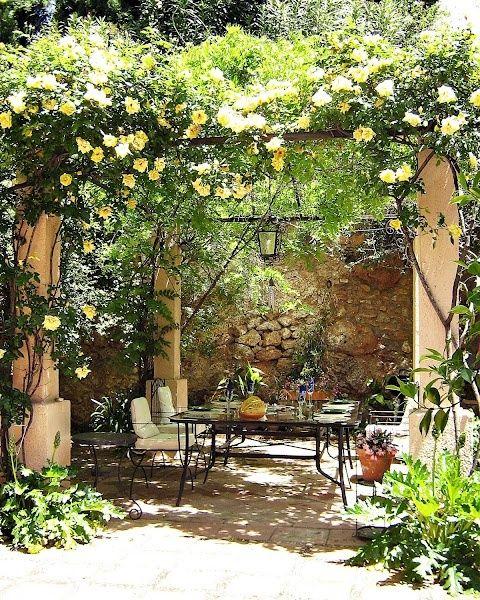 The 25 Best Ideas About Mediterranean Garden Design On Pinterest