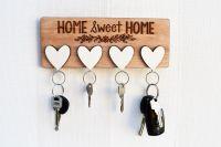 Best 25+ Diy key holder ideas on Pinterest | Key hook diy ...