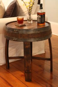 25+ best ideas about Whiskey barrel table on Pinterest ...