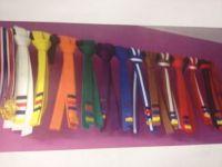 Taekwondo: Taekwondo Belt Display