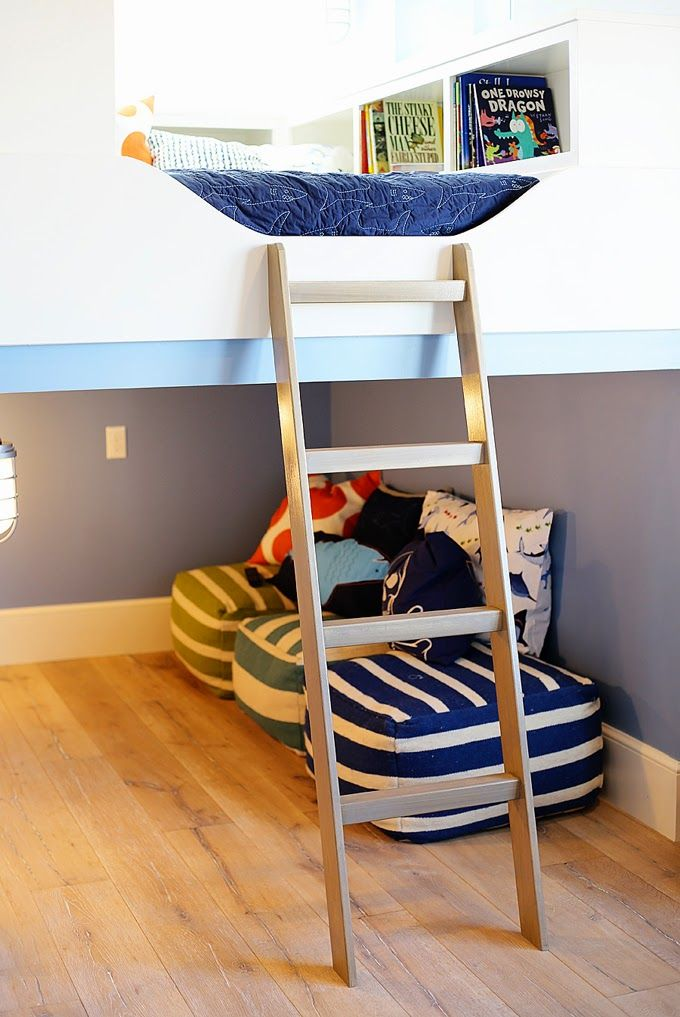 kids chair desk covers lincraft dream home tour - day three. amazing room. unther the loft bed lays reading nook ...