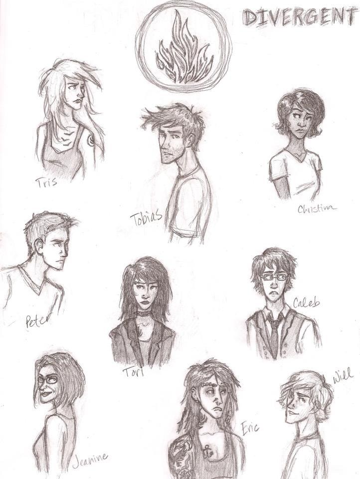 57 best images about °*Divergent fan art*° on Pinterest