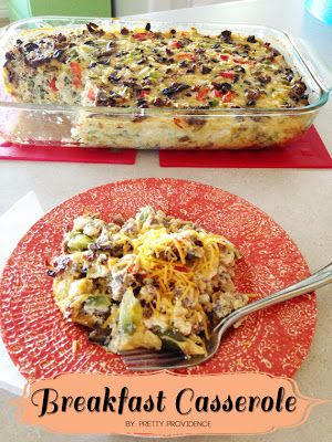 Worlds Best Breakfast Casserole – we will just see about that. Upon reading the