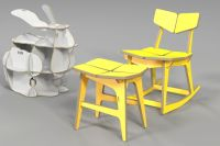 rocking chair / plywood furniture / cnc router / www ...