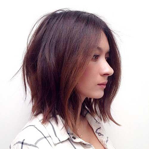 25 Best Ideas About Short Brunette Hairstyles On Pinterest