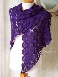 Beginner Crochet Shawl Patterns Free   LAUREN Crochet ...