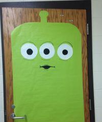 Toy Story Alien classroom door decor | Back to School ...