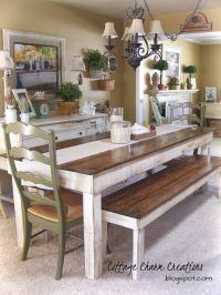 17 Best ideas about Farm Tables on Pinterest | Farm style ...