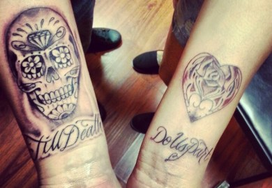 His And Hers Tattoo Ideas