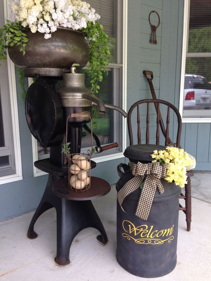 Cream separator  Front Porch 2014  Pinterest  Porch Front porches and Gardens