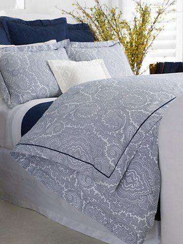 Navy Brentwood Paisley Duvet Duvet Covers Home Dream Home Pinterest