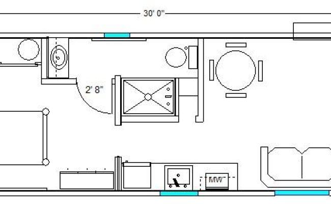 12x30 Hardship Cottage Tiny House Ideas Pinterest