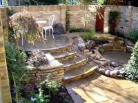 Love this multi=level backyard landscaping idea | GARDEN ...