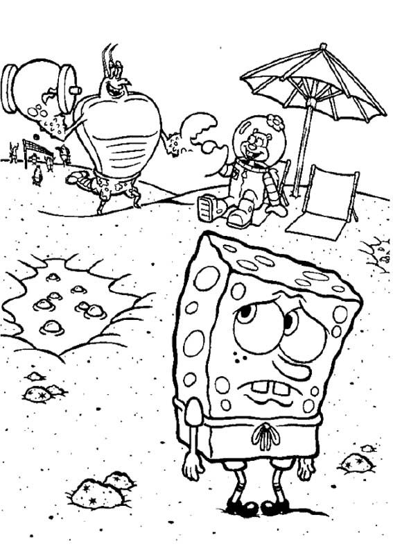 17 Best images about Spongebob Coloring Page on Pinterest