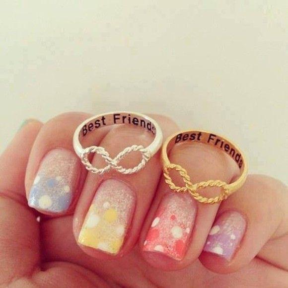 Best Friends Infinity Ring 6 5 Size Best Friends Friend Bracelets And The O Jays