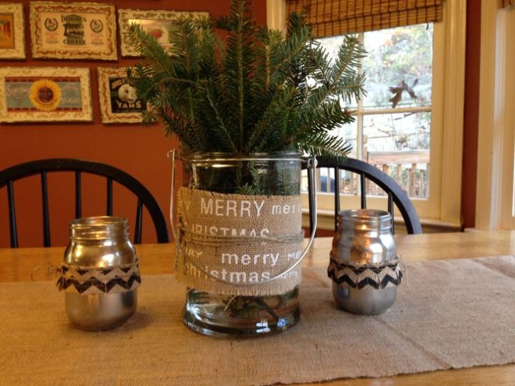 Kitchen Table Centerpiece Holiday Seasons