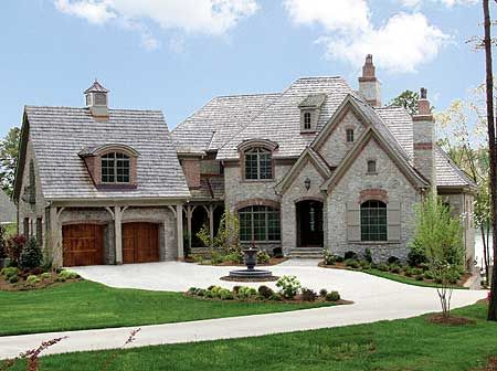 25 best ideas about french country house plans on for French european house plans