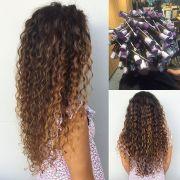 spiral perm long hula hair