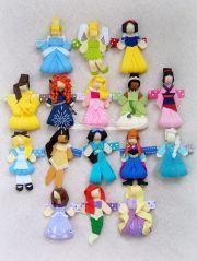 ribbon hair clips ideas
