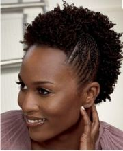 30 Short Mohawk Hairstyles For Black Women Natural Hair