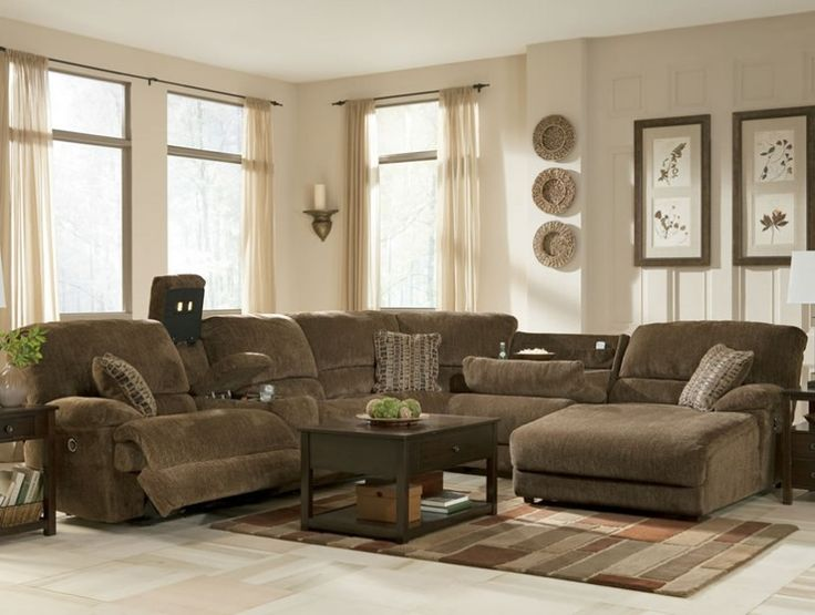 1000+ ideas about Brown Sectional on Pinterest