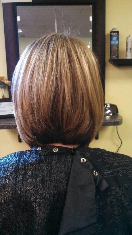 Long Layered Inverted Bob Hairstyle Long Layered