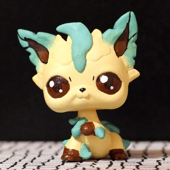 Leafeon Pokemon Littlest Pet Shop Custom Shops Pokemon
