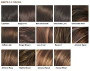 8 hair colors