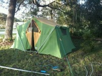 Vintage 9x12 wenzel canvas tent | Camping | Pinterest ...