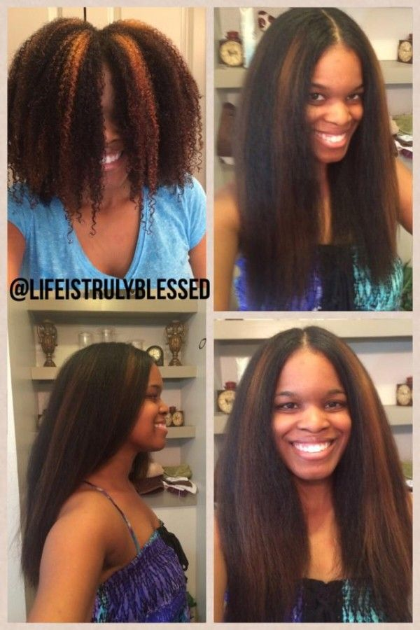 171 Best Images About Natural Hair Silk Press Curls On