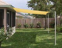 DIY Sun Shade Ideas | Cheap Outdoor Patio on Bamboo Shades ...