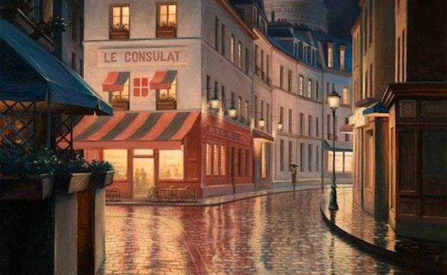 71 Best Images About French Street Scenes Paintings On