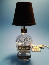 147 best images about Liquor Bottle Lamps on Pinterest ...