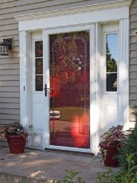 pella storm door designs